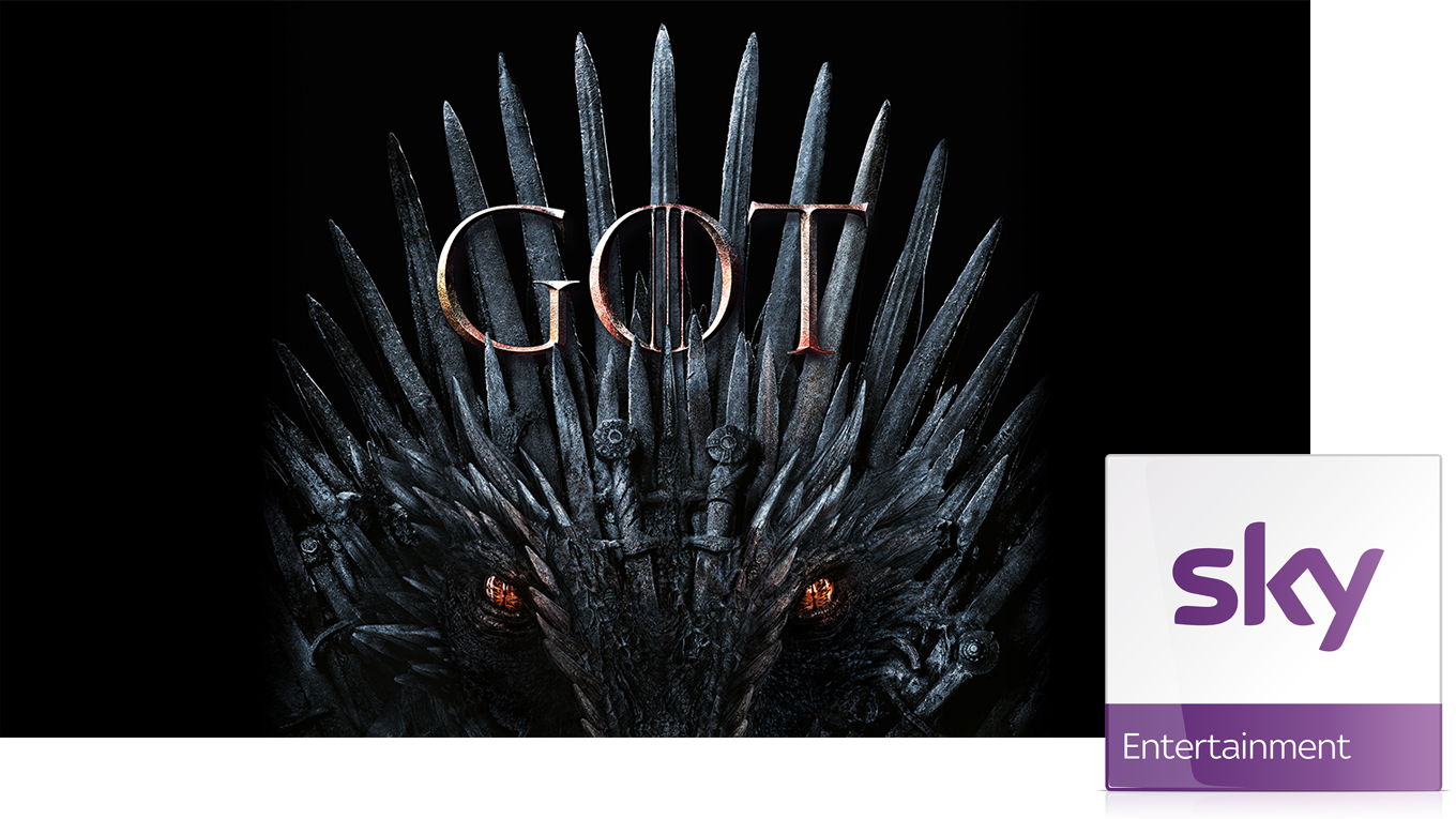 Alle Staffeln Game Of Thrones im Sky Entertainment Paket