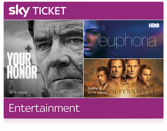 Das Sky Entertainment Ticket im Angebot