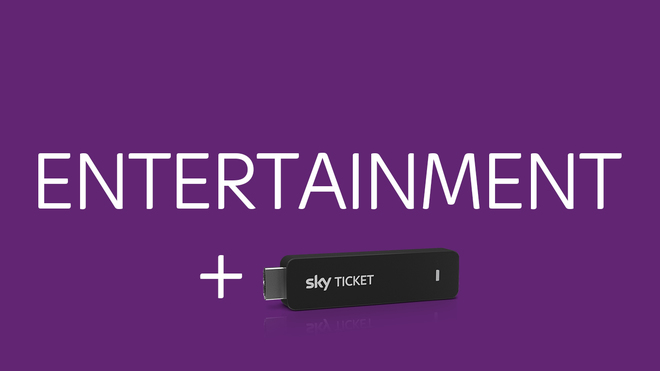 Das Sky Entertainment Ticket Angebot mit TV Stick