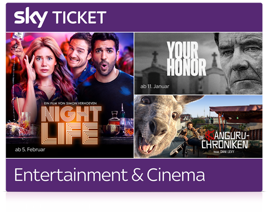 Die neusten Filme im Sky Cinema Ticket