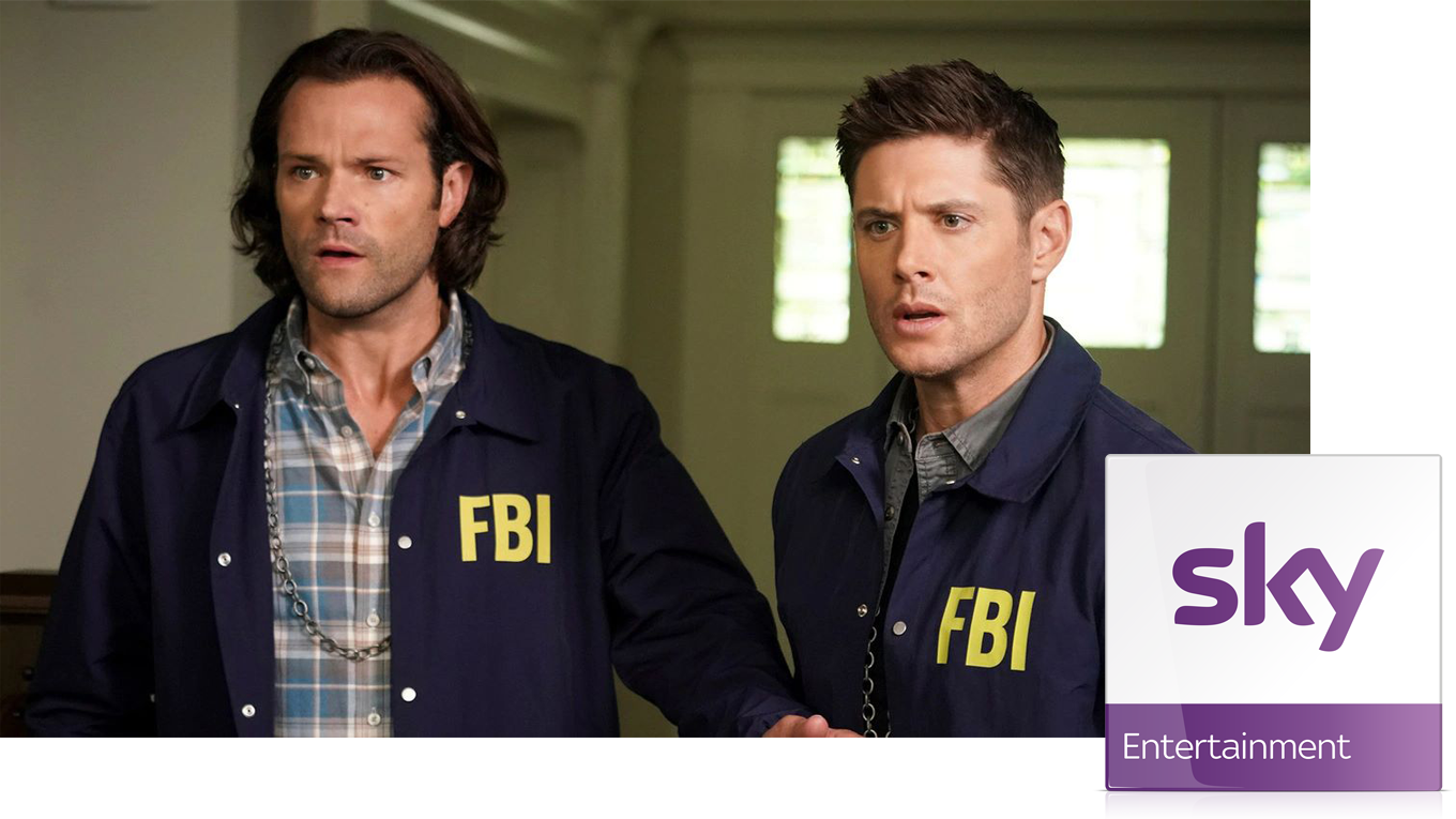 Supernatural im Sky Entertainment Paket