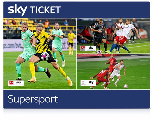 Das Sky Supersport Ticket im Angebot